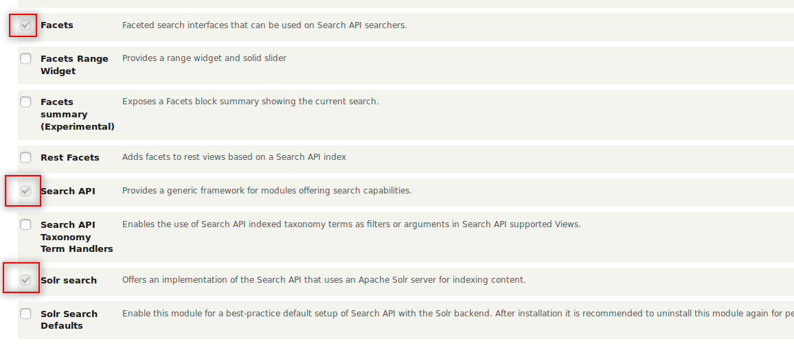 How to Implement Faceted search with Solr in Drupal 8