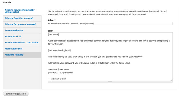 drupal 7 email templates