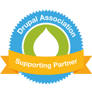 Drupal Association membership badge
