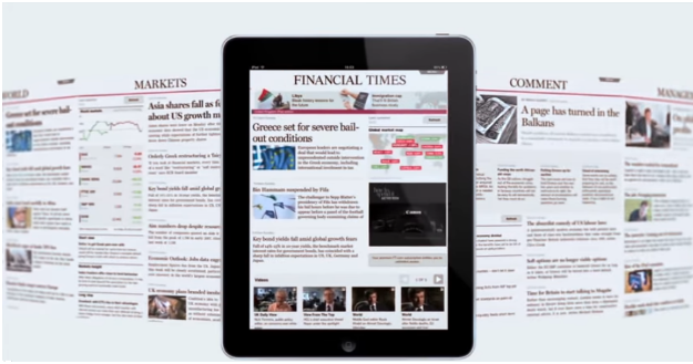 Financial Times on Cloud