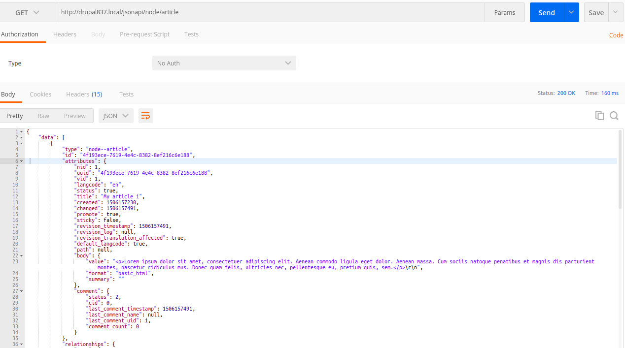 An overview of JSON API: A text-based data exchange format