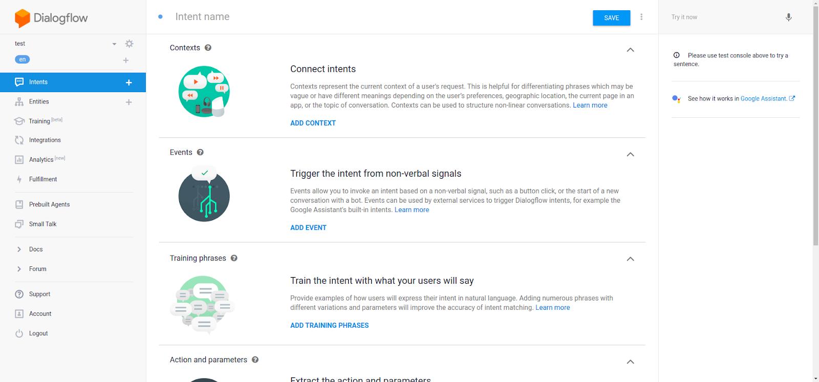 Google Assistant - Dialogflow2