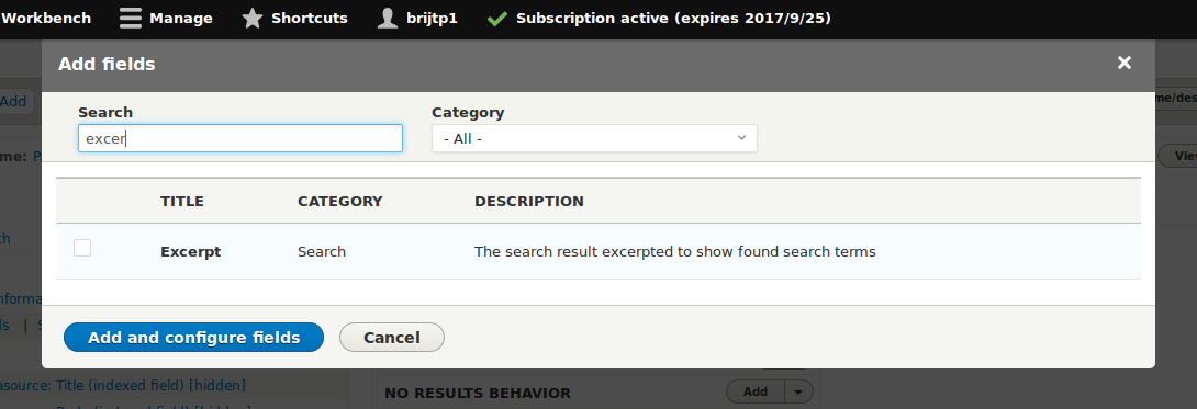 How to highlight search results in Search API Solr View in