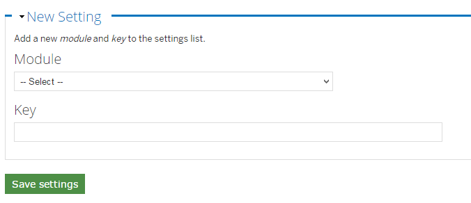 New mail system setting