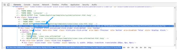 Page element screenshot