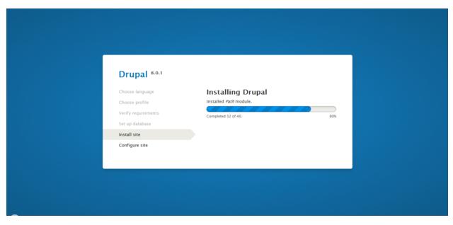 Installing Drupal