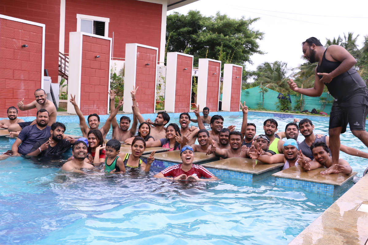 Well a picture speaks a thousand words. Valuebound's team overwhelmed with water sports.